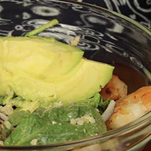 Key Lime Quinoa & Shrimp Salad Recipe - Blue Chair Bay®
