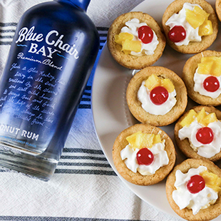 Piña Colada Cookie Cups Recipe - Blue Chair Bay®