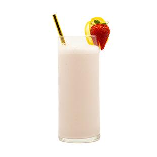 Strawberry Banana Boozy Smoothie Recipe - Blue Chair Bay®
