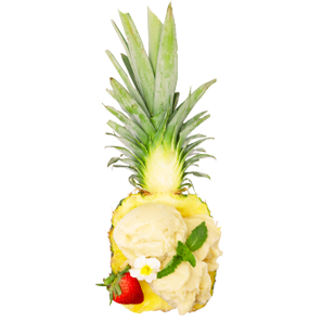Pineapple and Banana Ice Cream Recipe - Blue Chair Bay®