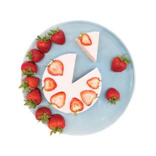Strawberry Banana Cheesecake Recipe - Blue Chair Bay®