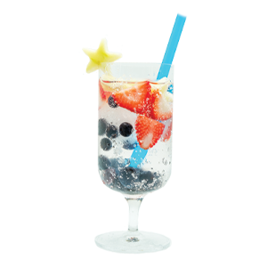 Stars & Berry Spritzer? Recipe - Blue Chair Bay®