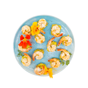 Shrimp and Cucumber Bites Recipe - Blue Chair Bay®
